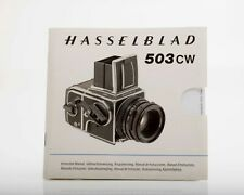 Hasselblad 503cw Instruction Manual
