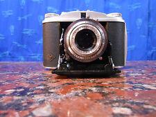 Mint Agfa Isolette II con Agfa Apotar 85mm f4.5 Folding Camera 6x6 Perfetta