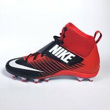 New Nike Lunarbeast Pro TD Size 10 Football Cleats 833421-018 Team Orange Bengal