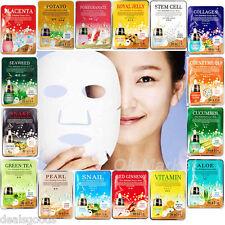 18 PCS Face Mask Sheet Pack Facial Skin Care Masque Moisture Essence K-Beauty