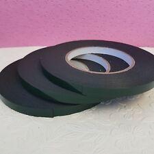 Black Automotive Double Sided Foam Permanent Car Self Adhesive Tape 9mm x 10m