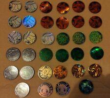 More details for 34 x pokemon coin bundle pokemon tcg battle coins flip coin excellent condition