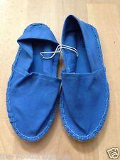BNWOB FIORE SIZE 3 BLUE LADIES ESPARDRILLES 6S