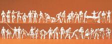 Preiser 16329 échelle H0 figurines,pompiers avec accessoires 42 Figurines