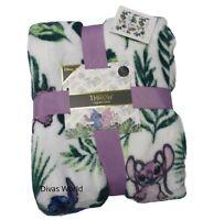 Disney Lilo & Stitch Throw Soft Fleece Home Blanket 120cm X 150cm Primark
