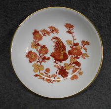 "Wedgwood Bone China Golden Cockerel Bowl with Gold Trim Edge  - 4"" Across"