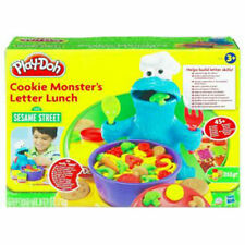 HASBRO PLAY-DOH SESAME STREET COOKIE MONSTER'S LETTER LUNCH! HTF MINT-BRAND NEW!