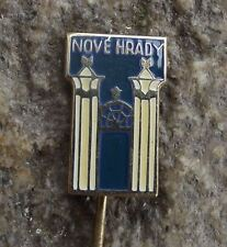 Antique Nove Hrady Neuschloss Usti nad Orlici Chateau Palace Souvenier Pin Badge
