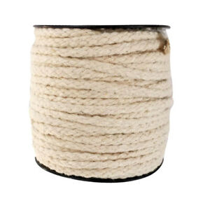 Corde de Coton de Rouleau 8 Brins(6 Fil) Corde de Fabrication Accessoire de