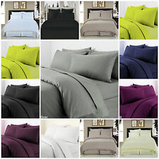 """Extra Deep 16""""/40cm Fitted Sheet Egyptian Combed Cotton T-300 Sateen Quality"""