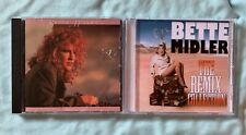 Bette Midler 2 Cd Some People's Lives + Best Of Hits + remix CD Betty dj rose