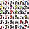 New 2019 Men's Cycling Bib Kit MTB Bike Jersey and Padded Cycling Bib Short Set