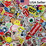 Lot 100 Random Skateboard Stickers Vinyl Laptop Luggage Decals Dope Sticker Mix
