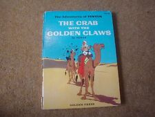 Tintin 1959 le Crabe avec The Golden Claws Golden Presse First Edition