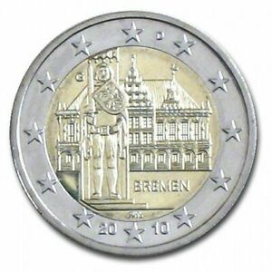 2 EUROS ALLEMAGNE 2010 ATELIER G