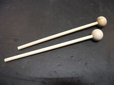 Pair (2) New Children's Bell/Woodblock/Cowbell Mallets. Percussion/Training Tool