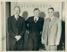1934 EN Harvey WG Swann AL Loomis Medal Meeting Franklin Institute  Press Photo
