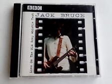 Jack Bruce Live On The BBC CD 1998 Made in UK Brand New