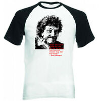 KURT VONNEGUT - BLACK SLEEVED BASEBALL TSHIRT S-M-L-XL-XXL