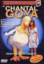 LOT 10 DVD Chantal Goya Le monde magique 3  | DVD