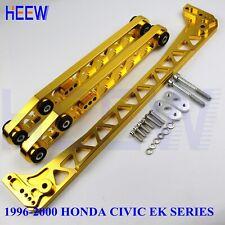 BILLET REAR LOWER CONTROL ARM SUBFRAME BRACE EK FOR HONDA CIVIC 96-00 F7 GOLD