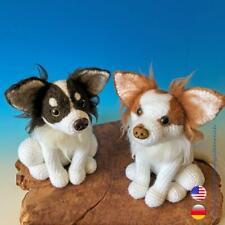 Häkelanleitung Amigurumi Chihuahua, Hund sitzend VERSAND PER EMAIL PDF-Datei