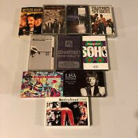 Lot Of 10 1990s 90s Cassettes Radiohead Black Crowes Scorpions Etc #1