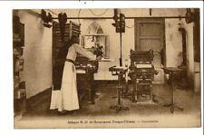 CPA-Carte Postale-Belgique-Scourmont-Abbaye Forges Chimay- Imprimerie -1930 VM