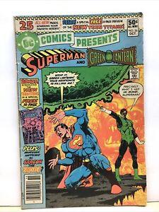 DC Comics Presents Superman #26 1st Cyborg Starfire Raven 1st New Teen Titans VG