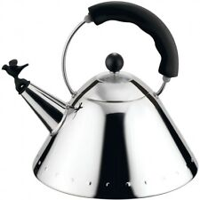 Alessi Bird Whistle Kettle Black 9093 B by Michael Graves