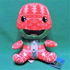 "Little Big Planet 3 Holiday Knit Sackboy Plush 6"" Stubbins Christmas Toy Doll"