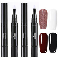 LEMOOC 5ml 4Pcs Nagel Gellack Nail Art Gel UV Nagellack Soak off Nail Art Lot