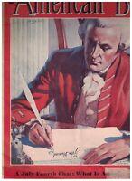 American Boy Magazine July 1940 John Hancock Declaration of Independence
