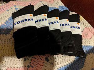 BRAND NEW - Bombas - Unisex  Men/Women - Socks Large - 5 Pair - Great socks