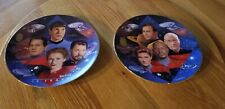 Star Trek: 30 Years The Hamilton CollectionPlates Set of 6 with Coas Mint