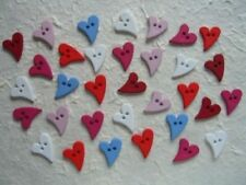 Hearts Cardmaking & Scrapbooking Buttons