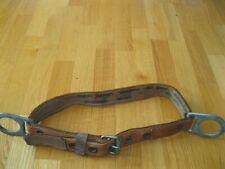 Vintage Klein Tools Pole Climbing Belt -Size Medium- Model 5442-Date 3-78