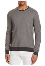 The Men's Store at Bloomingdale's Cotton Birdseye Tonal Trim Sweater, XL, $118