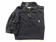 New Ralph Lauren Polo Custom Fit Faded Black w/ Pocket 100% Cotton Shirt sz M
