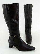 Wadenhohe Tamaris Damen-Stiefel aus Echtleder mit mittlerem Absatz (3-5 cm)