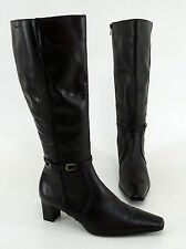 Wadenhohe Tamaris Damen-Stiefel mit Blockabsatz