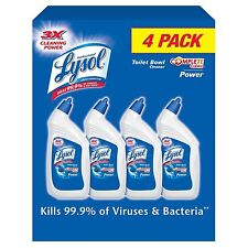 Lysol Professional Toilet Bowl Cleaner - Original - 32 oz. - 4 pk. FREE SHIPPING