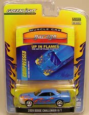 GREENLIGHT COLLECTIBLES 1:64 SCALE DIECAST METAL BLUE 2009 DODGE CHALLENGER R/T