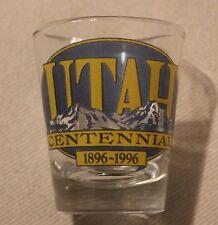 Utah Centennial (1896-1996) Shot Glass