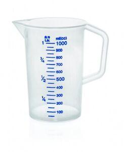 Messbecher, Kunststoff, 0,5 - 5,0 Liter wählbar, 100 ml Skalierung