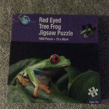NEW - RED EYED TREE FROG - 1000 PIECE PUZZLE - PUZZLE WORLD - 73 X 48 CM