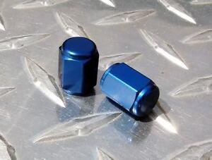 BLUE Valve Caps CBR F4 RC51 GSXR TLR SV650 R1 R6 FZ1 FZ6 ZX10 Z1000 ZX14 GT650