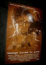 Original GEORGE LUCAS IN LOVE 1 sheet AWARD WINNING SHORT FILM Make Offer!!!