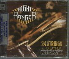 CD + DVD SET NIGHT RANGER 24 STRINGS & A DRUMMER LIVE ACOUSTIC SEALED NEW 2013