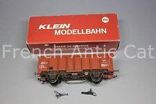U349 KLEIN modellbahn train Ho SNCB 3281 Wagon toit coulissant Rolldachwagen